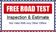 FREE Road Test Coupon
